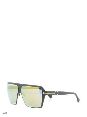 Солнцезащитные очки TM 519S 01 Opposit. Цвет: черный