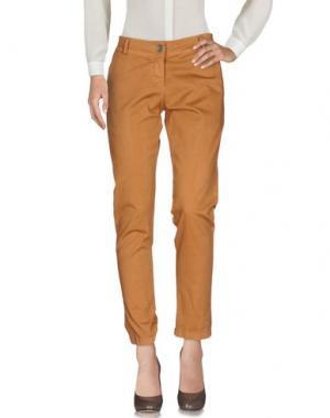 Повседневные брюки KAYLA. Цвет: верблюжий