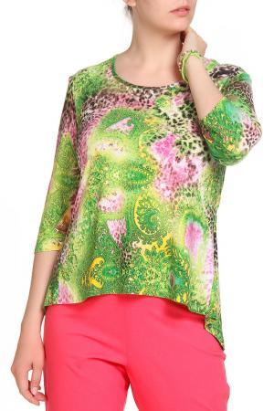 Блуза Кливиа LAVELLE. Цвет: зеленый