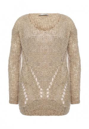 Пуловер Lovini. Цвет: бежевый