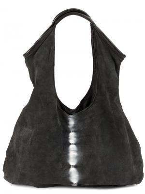 Сумка на плечо с контрастной полосой Numero 10. Цвет: чёрный