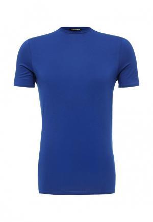 Футболка домашняя Dsquared Underwear. Цвет: синий