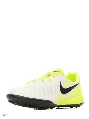 Шиповки JR MAGISTAX OPUS II TF Nike. Цвет: белый