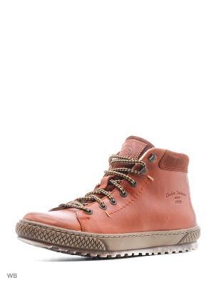 Ботинки DOCKERS.. Цвет: терракотовый