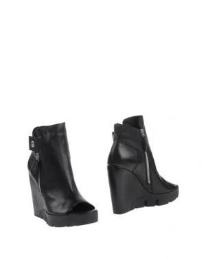 Полусапоги и высокие ботинки CRIME LONDON. Цвет: черный
