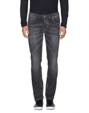 Джинсовые брюки DW⁵. Цвет: свинцово-серый