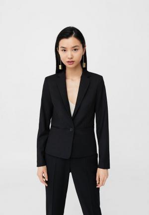 Пиджак Mango. Цвет: черный