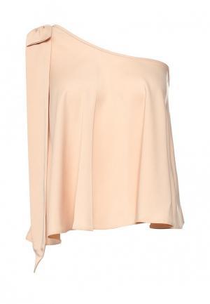 Блуза Miss Selfridge. Цвет: бежевый