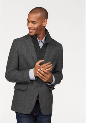 Пиджак 2 в 1 Class International. Цвет: темно-серый/меланжевый