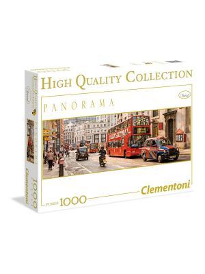 Итальянский пазл Clementoni. Серия Панорама Англия, Лондон (n). Clementoni. Цвет: белый, синий, красный