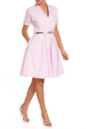 Платье Alexander Terekhov. Цвет: розовый