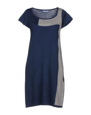 Короткое платье FLY GIRL. Цвет: темно-синий