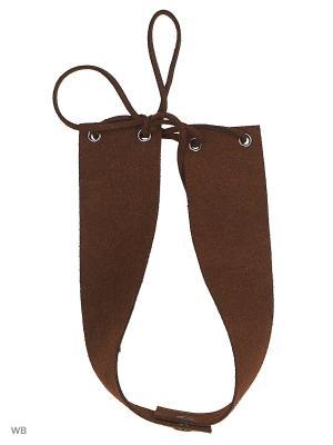 Чокеры UFUS. Цвет: коричневый