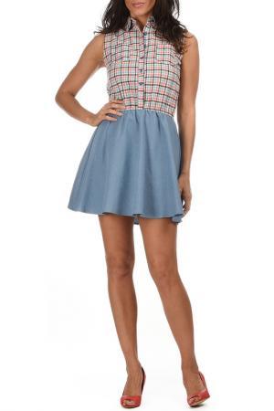 Платье AZURA. Цвет: розовый