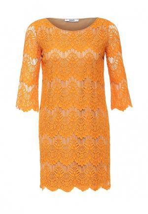 Платье Liu Jo Jeans. Цвет: оранжевый