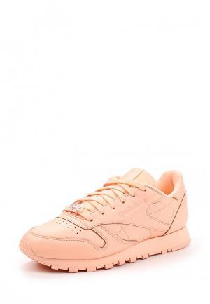 Кроссовки Reebok Classics. Цвет: розовый
