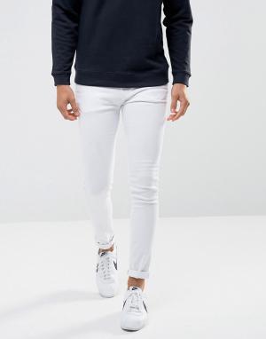Waven Белые джинсы скинни. Цвет: белый