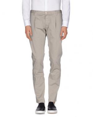 Повседневные брюки HAMAKI-HO. Цвет: светло-серый
