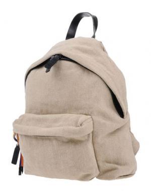 Рюкзаки и сумки на пояс MSGM. Цвет: бежевый