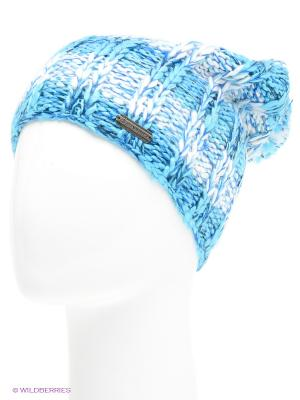 Шапка Alpine PRO. Цвет: голубой, белый, синий