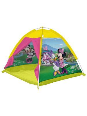 Палатка 112*112*84 Минни FRESH-TREND. Цвет: желтый