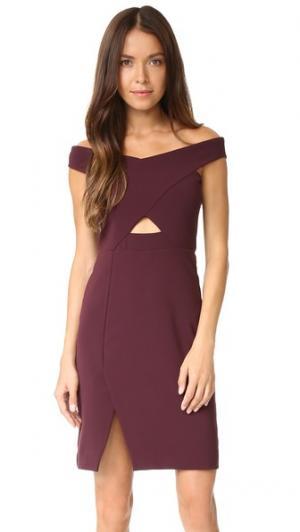 Платье Rory Parker. Цвет: коричневый