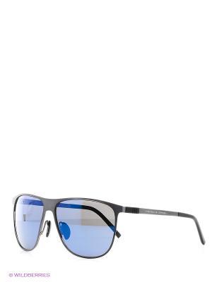 Очки Porsche Design. Цвет: синий, серый