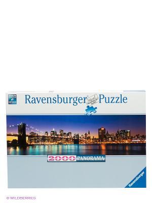 Пазл Панорамный Нью-Йорк Ravensburger. Цвет: голубой