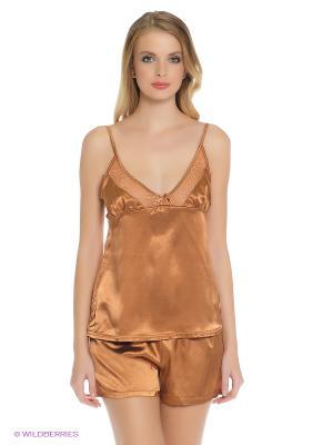 Пижама PELICAN. Цвет: светло-коричневый