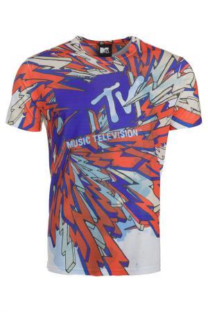 Футболка Mtv. Цвет: мультицвет