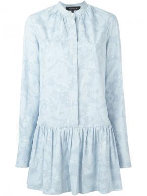 Платье-рубашка с принтом пейсли Thakoon. Цвет: синий