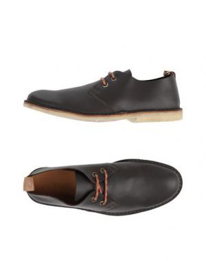 Обувь на шнурках MARC JACOBS. Цвет: темно-коричневый