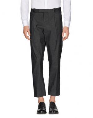 Повседневные брюки HōSIO. Цвет: серый