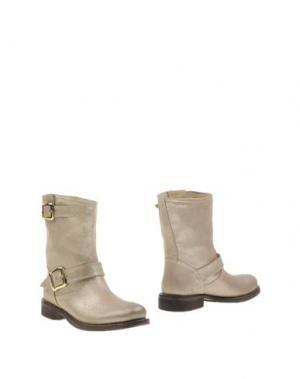 Полусапоги и высокие ботинки TWIN-SET Simona Barbieri. Цвет: платиновый