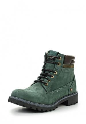Ботинки Wrangler. Цвет: зеленый