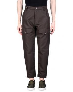 Повседневные брюки ALEXANDER WANG. Цвет: темно-коричневый