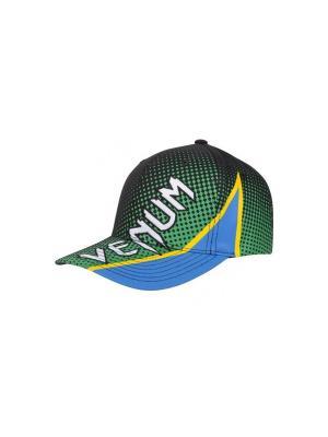 Кепка Venum Electron 3.0. Цвет: зеленый, голубой, желтый