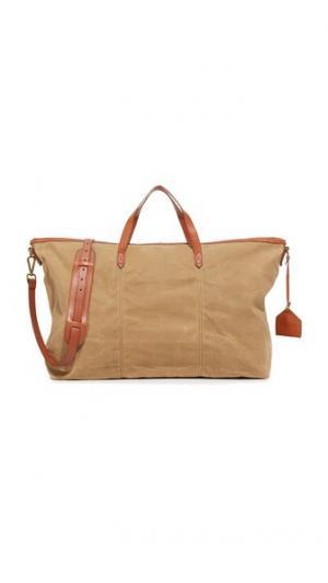 Дорожная сумка из холщовой ткани Madewell