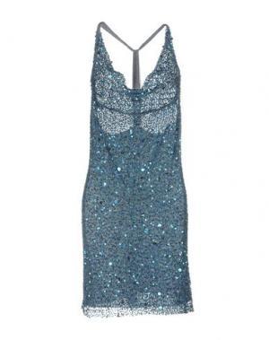 Короткое платье LA KORE. Цвет: пастельно-синий