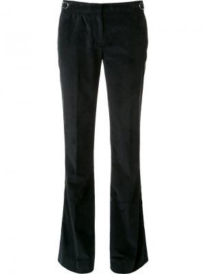 Расклешенные брюки Gabriela Hearst. Цвет: зелёный