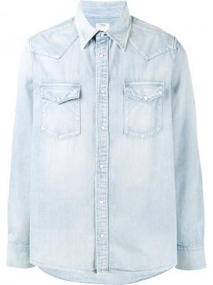 Джинсовая рубашка Albacore Visvim. Цвет: синий