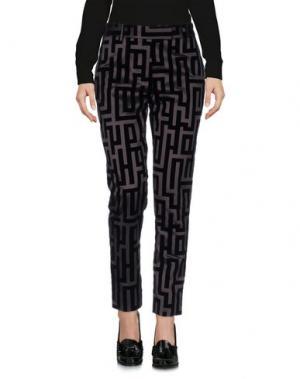Повседневные брюки MARCO BOLOGNA. Цвет: свинцово-серый
