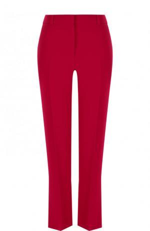 Укороченные расклешенные брюки со стрелками Givenchy. Цвет: фуксия