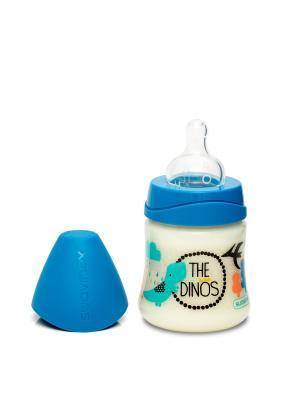 Бутылочка для кормления Suavinex. Цвет: синий