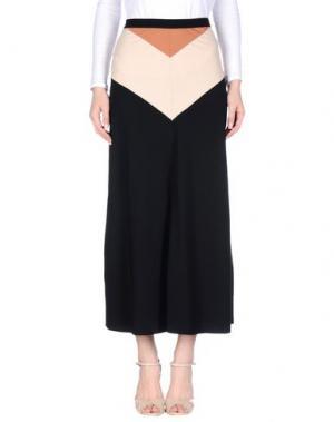 Длинная юбка JUCCA. Цвет: черный