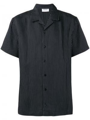 Рубашка в полоску с короткими рукавами Harmony Paris. Цвет: чёрный