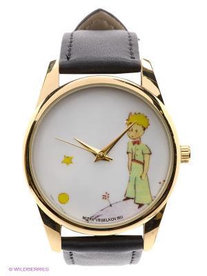 Часы Mitya Veselkov Маленький принц. Цвет: черный, золотистый