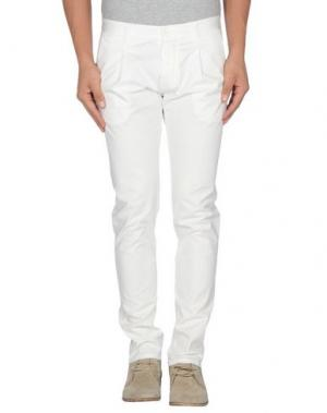 Повседневные брюки OFFICINA 36. Цвет: слоновая кость