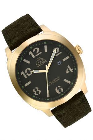 Часы Kappa. Цвет: желтый, черный