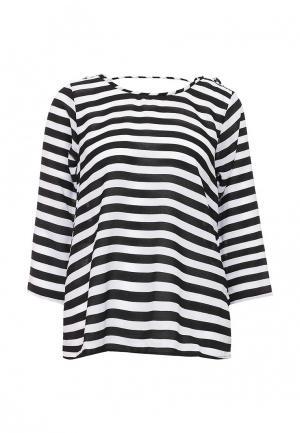 Блуза Compania Fantastica. Цвет: черно-белый